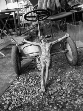 Jesus im Mauerpark